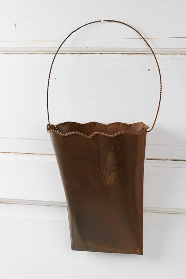 1000 Images About Tin Wall Pockets On Pinterest Buckets