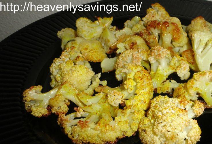 Roasted Curry Cauliflower! | Amazing Food | Pinterest