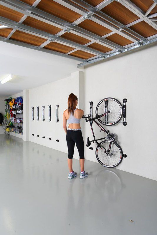 Classic Bike Storage Wall Mounted Bike Rack