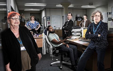 Jo Brand heads the cast of Damned