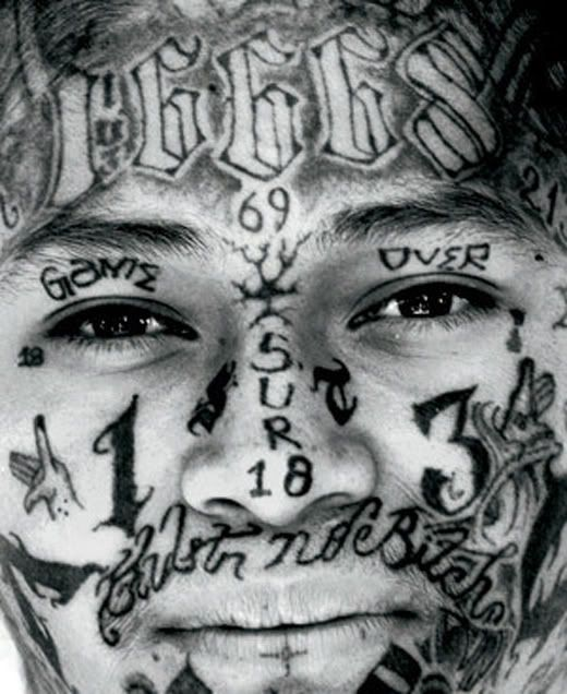 Marked For Life Tattoos And Gangs: 80 Best Family-MS-13 Images On Pinterest
