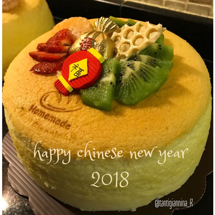 Japanese cheese cake  Cny 2018