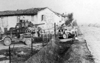 New Zealand tank near Rimini