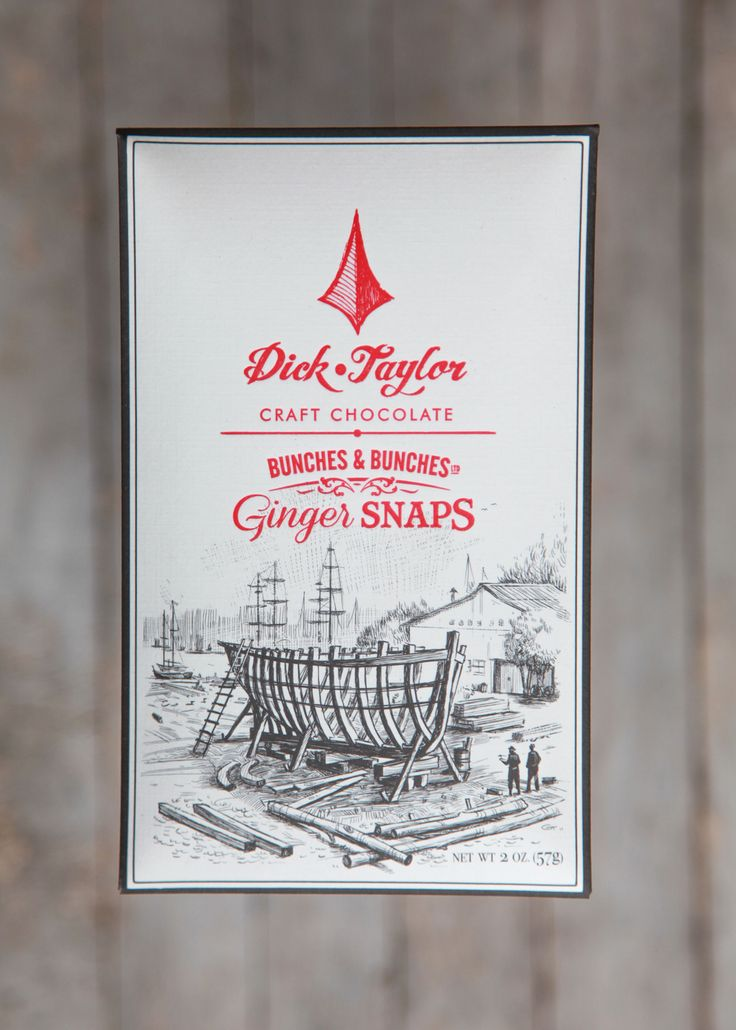 Holiday Chocolate: Ginger Snaps bar from Dick Taylor Chocolate