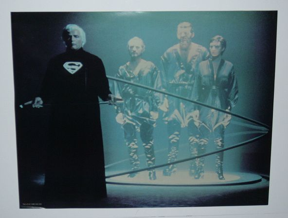 1970's Superman DC Comics premium movie poster 1: Marlon Brando/General Zod/1978