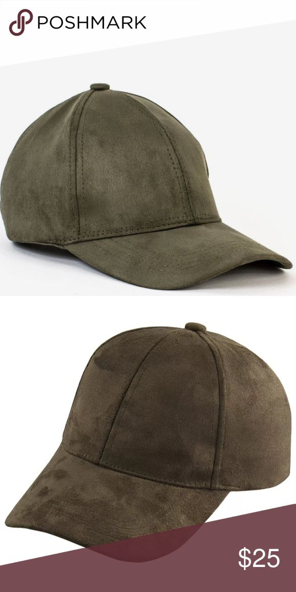 ✨NWOT✨ Army Green Faux Suede Cap Faux suede caps. Classic baseball cap with a soft faux suede texture. Adjustable buckle in back. One size fits all. Available in Camel color. Brand listed for exposure. NWOT   20% Cotton 80%Polyester Zara Accessories Hats