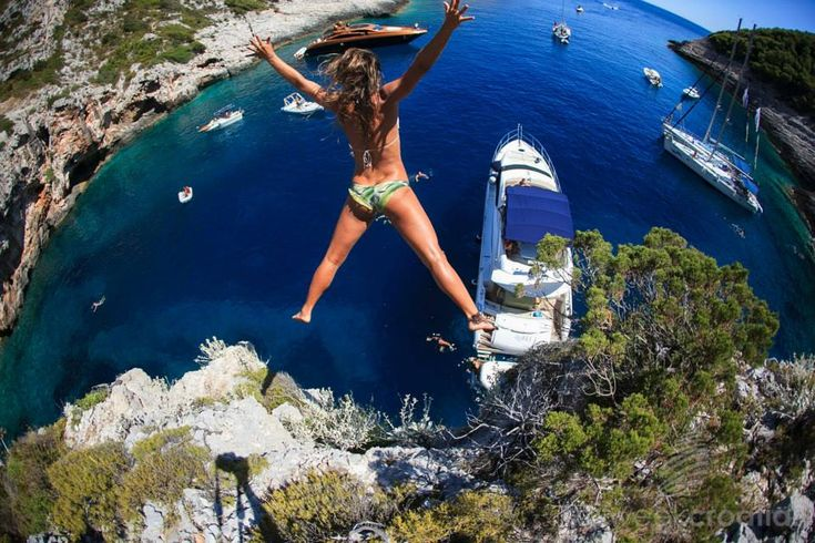 Haha. Wuld be too afraid to jump !   Croatia