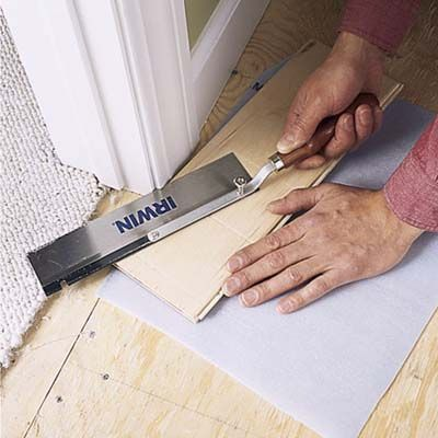 Photo: Kolin Smith   thisoldhouse.com   from How to Install a Floating Floor