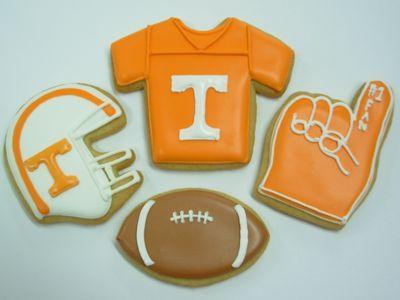 Tennessee Vols Cookies