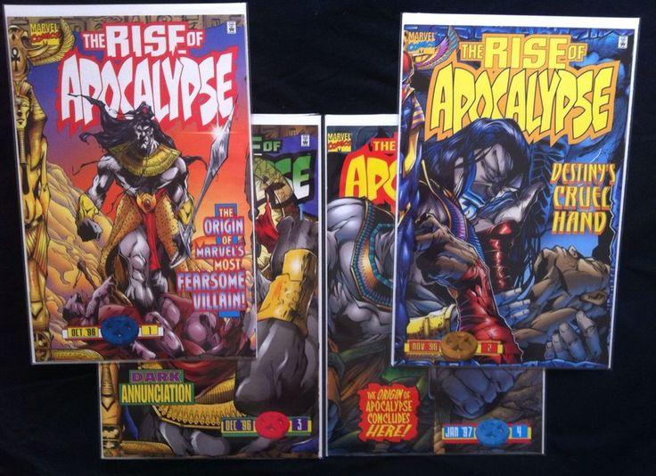 RISE OF APOCALYPSE 1-4 2 3 1st Print Origin Marvel Comics Lot 1996 NM