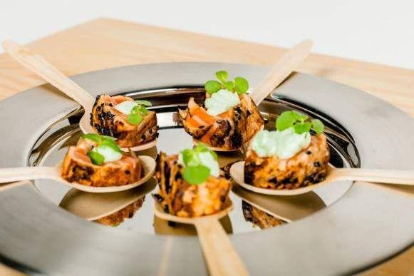 Salmon tatami! #helsinki   Soupster Catering