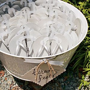 Chic Outdoor Wedding | Wedding Favors | SouthernLiving.com