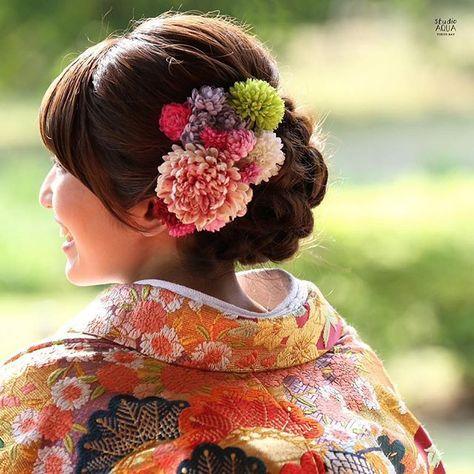 * カラフルなお花をたくさん✳︎* hair & make up : ayumi fujinoki . . #ブライダル #ウェディング #ヘアスタイル #ヘアアレンジ #ヘアメイク #結婚写真 #プレ花嫁 #花嫁 #前撮り #ウェディングヘア #ブライダルヘア #日本中のプレ花嫁さんと繋がりたい #色打掛 #和装ヘア #bridal #wedding #hairstyles #hairarrange #weddinghair #bridalhair #bride #kimono