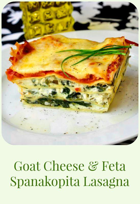 ... Pasta with Goat Cheese by pinchofyum #Pasta #Mushroom #Goat_Cheese