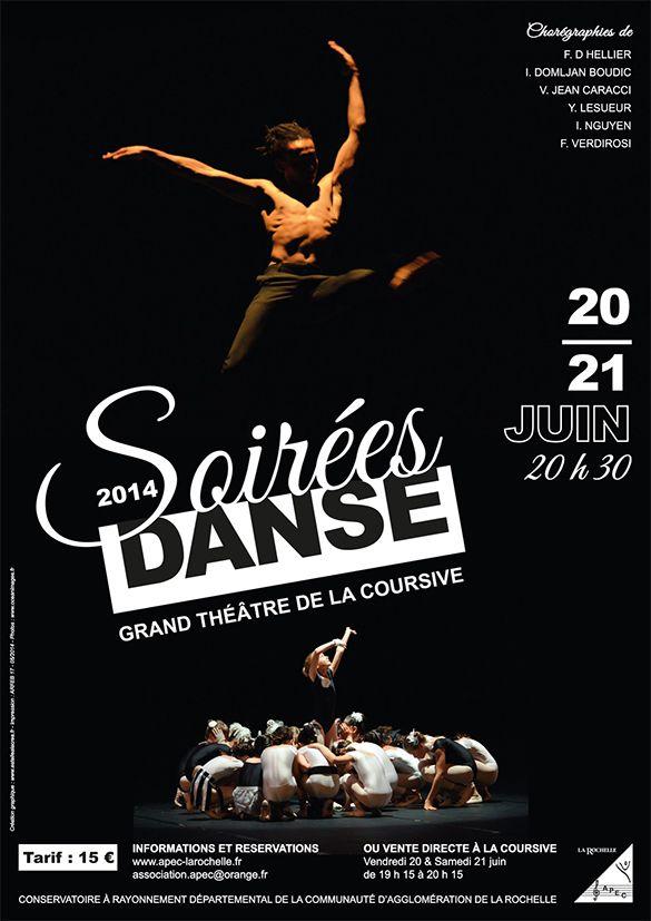 Affiche Soirées Danse 2014