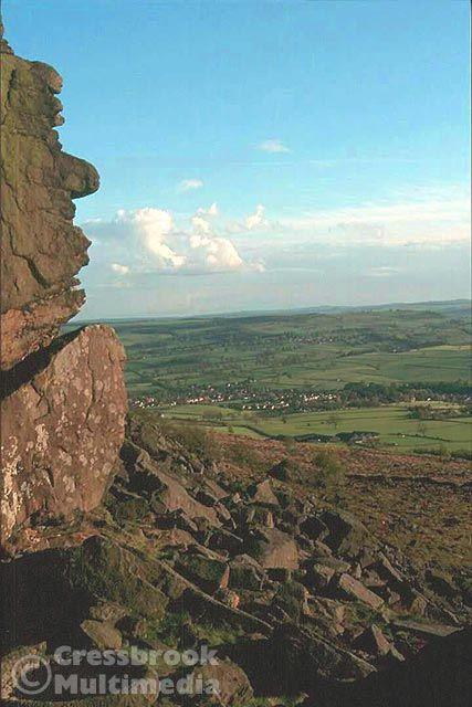 Baslow Edge, Peak District, Derbyshire
