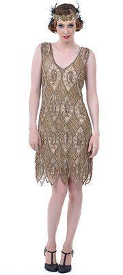 Vintage style flapper dresses for sale