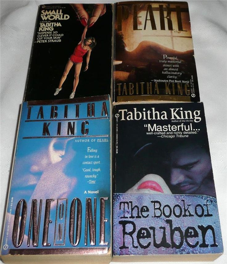 Four (4) Paperback Novels by Tabitha King