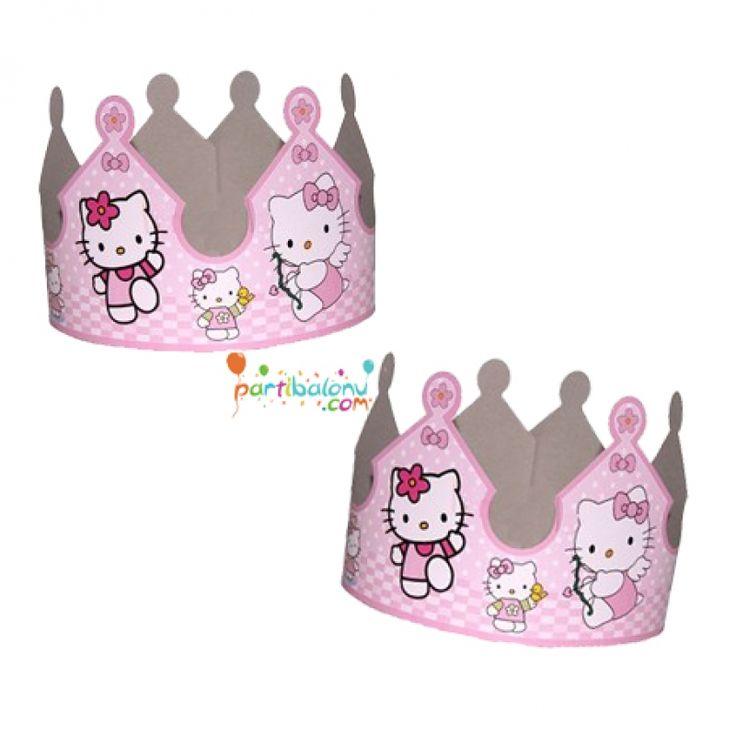 Hello Kitty Taç Hello Kitty Karton Taç Ürün Özellikleri  Ürün Paketinde 10 Adet Taç bulunur. Karton Taç renkleri gayet açık olup kaliteli üretimdir. Taçlar kartondan üretilmiştir. Doğum günü partilerinde çocuklara hediye olarak dağıtılabilir.