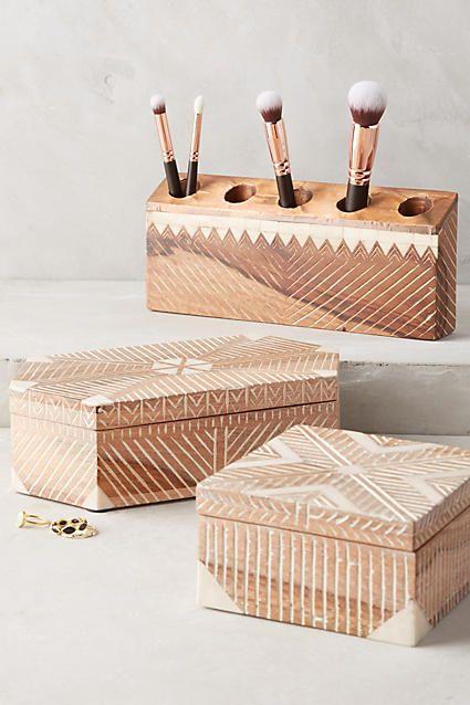 Boîte à bijoux Tulum - anthropologie.com