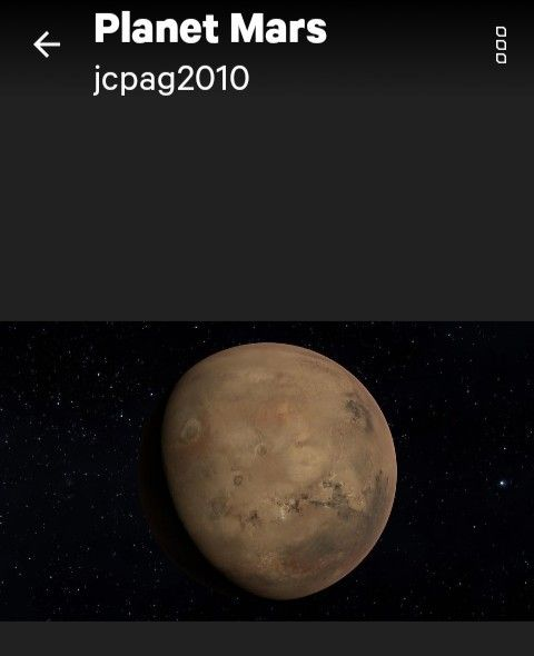Mars Is The Fourth Planet From The Sun Stock Image - Image
