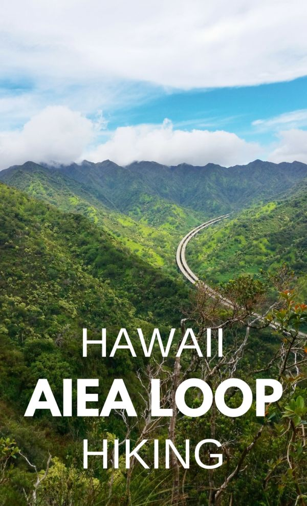 For Oahu hikes during your Hawaii vacation, have a look at the Aiea Loop hiking trail! This Oahu hike is a less frequented trail for tourist attractions and hiking in Hawaii and things to do in Oahu. Aiea Loop Trail is near Pearl Harbor and the Honolulu airport and easy to get to from Waikiki. If you're looking to take a break from the beaches and swimming, and for ways to stay fit when you travel, try this trail! Put some hiking outfits on your Hawaii packing list!