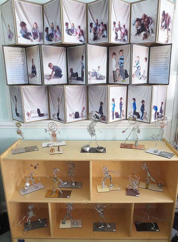 Wow-Wire Work Display-Palisades Preschool