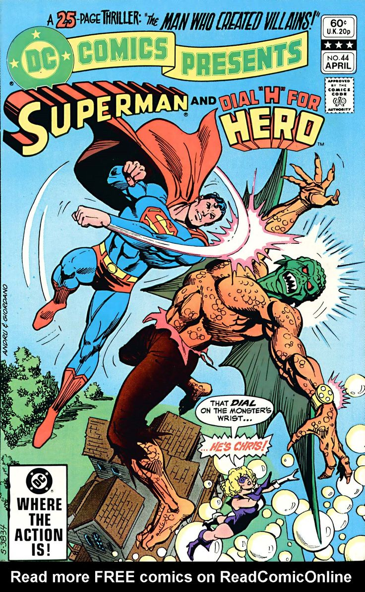 DC Comics Presents Issue #44 - Read DC Comics Presents Issue #44 comic online in high quality