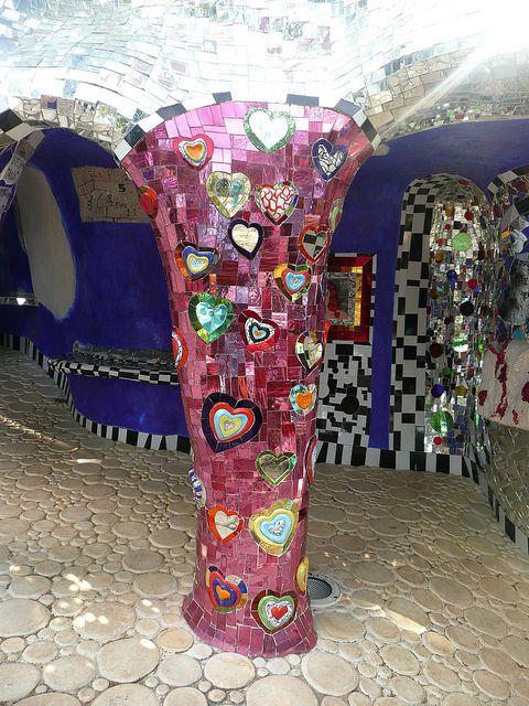 Mosaic Tarotgarten von Niki de Saint Phalle