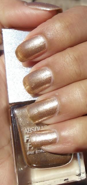 Lakme gold mine nail polish