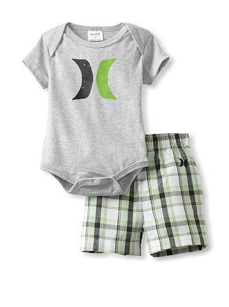 Amazon Com Hurley Baby Boys Newborn Creeper Pant