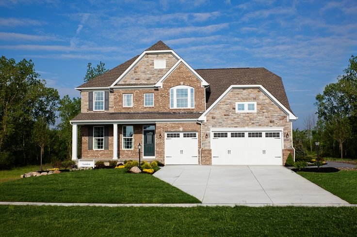 Ryan Homes- Landon Twinsburg, OH 4 Bedrooms 3 1/2 Baths 3076 sq. ft. Beautiful community surrounded by natural preserve.  Granite kitchen countertops, stainless steel appliances and  full basement.