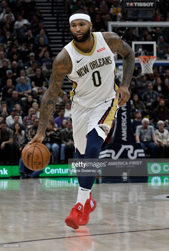News Photo Demarcus Cousins Of The New Orleans Pelicans New Orleans Pelicans New Orleans Pelican