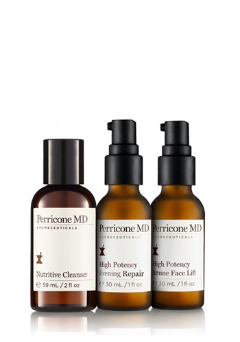 Nutritive Cleanser, High Potency Amine Complex Face Lift, High Potency Evening Repair    $49.00 USD