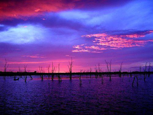 Kariba by sunset