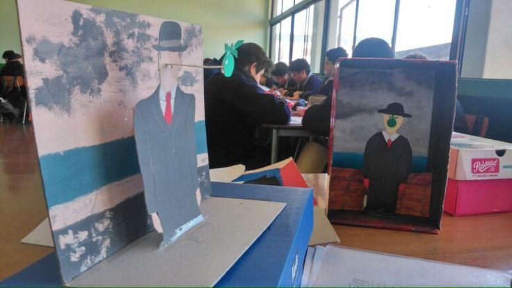 Magritte en clases