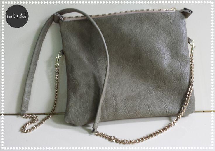 Voilà un sac en bandoulière, bien pratique pour l'été, que j'ai fait il y a bien…
