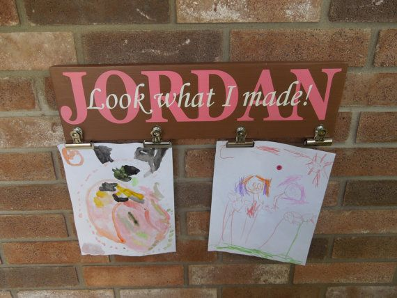 Look what i made personalized sign hand painted solid for Sticky boards for crafts