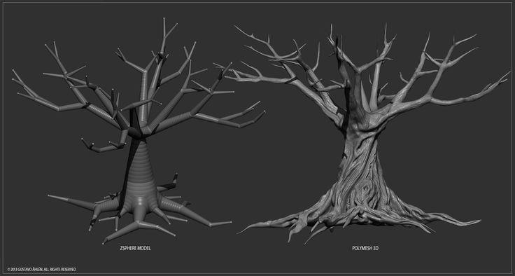 3D tree sculpting - Google 검색