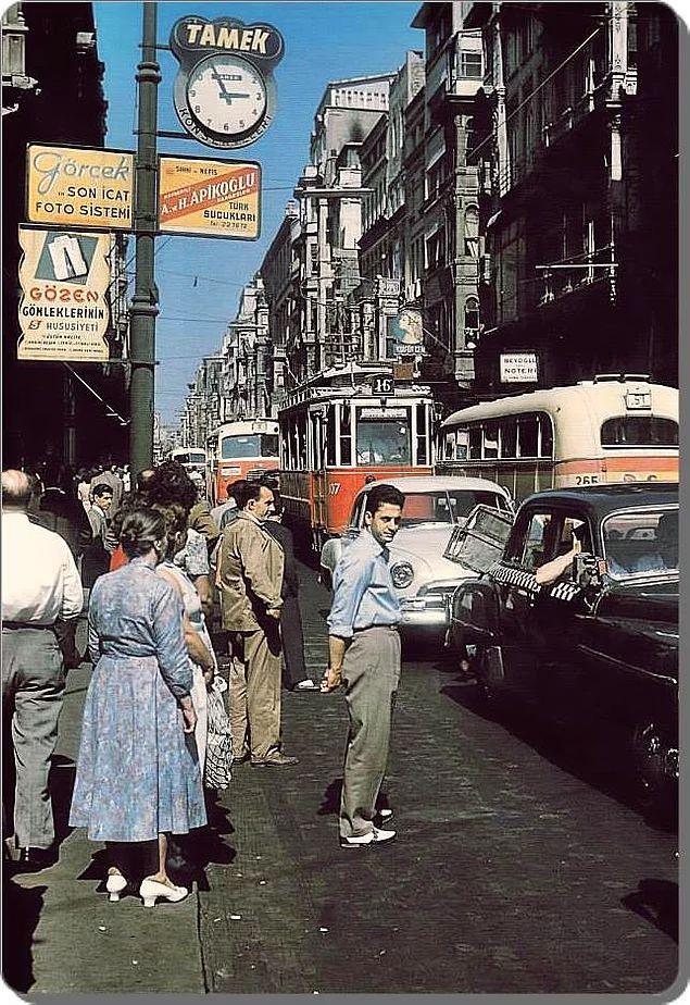 Beyoğlu - 1958