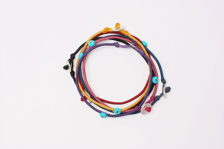 Hand-twisted braid bracelet,custom Terra jewellery. www.terrajewellery.com