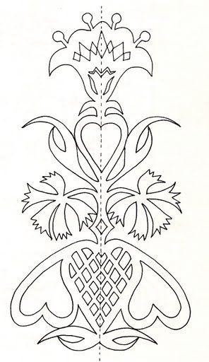 folk art cut