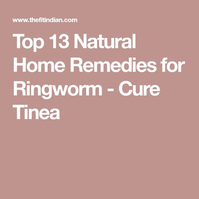 Top 13 Natural Home Remedies for Ringworm - Cure Tinea