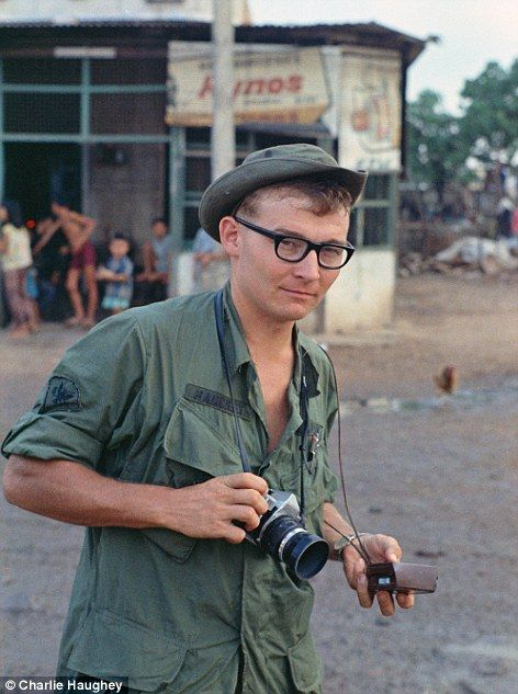 Charles Haughey, a Vietnam War soldier, pretended to have photographic experience but was nonetheless on the front line of the war. His photos have come to light recently, after being stored for 45 years.