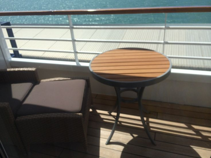 Crystal Cruises - Crystal Symphony, Penthouse Suite Balcony