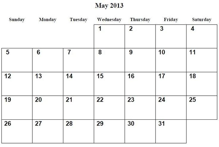 Year Calendar Template | Calendar Template 2016