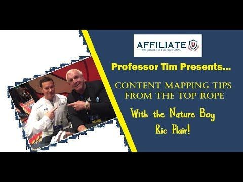 Learn Affiliate Marketing - Content Mapping with Ric Flair https://youtu.be/5MENV-aaTGc