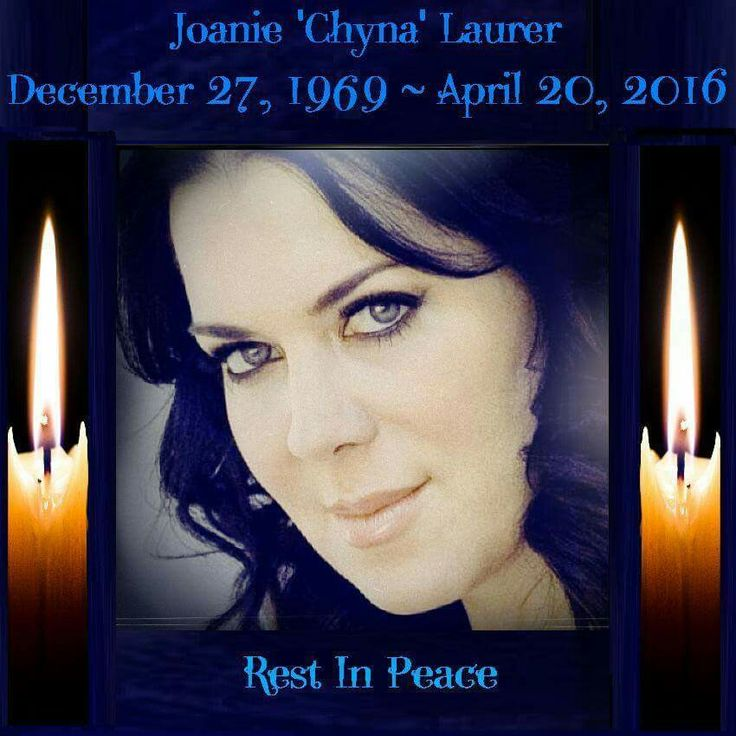 "RIP Joanie ""Chyna"" Laurer. Thoughts and prayers to her family, friends and fans. #gonetoosoon #RIPChyna #RIPJoanie #WWF #WWE #Chyna"