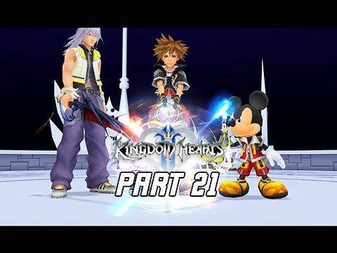 Kingdom Hearts 2.5 Final Mix Walkthrough Part 21 - The Door (Kingdom Hearts 2 PS4 )