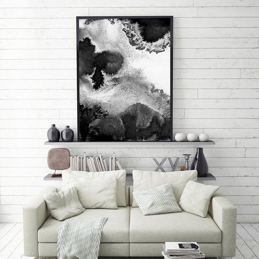 dodatki - plakaty, ilustracje, obrazy - grafika-Ink| 50x70 cm